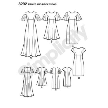 simplicity-dress-pattern-8292-front-back-view