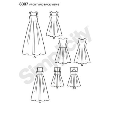 simplicity-dress-pattern-8307-front-back-view