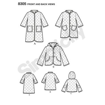 simplicity-jacket-coat-pattern-8305-front-back-view