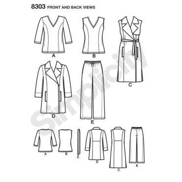 simplicity-sportswear-pattern-8303-front-back-view