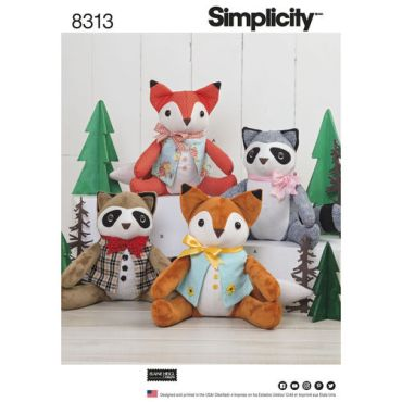 simplicity-stuffed-craft-pattern-8313-envelope-front