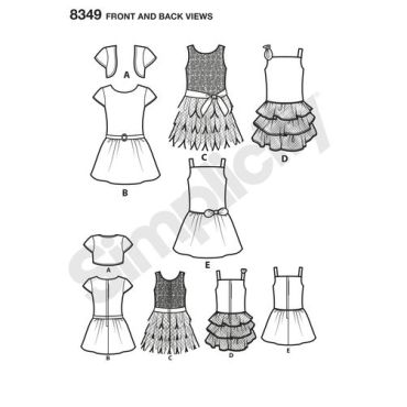 simplicity-american-girl-pattern-8349-front-back-view