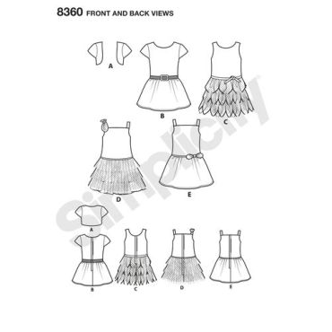 simplicity-american-girl-pattern-8360-front-back-view