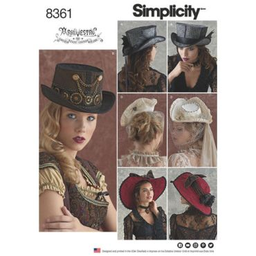 simplicity-costume-hat-pattern-8361-envelope-front-1
