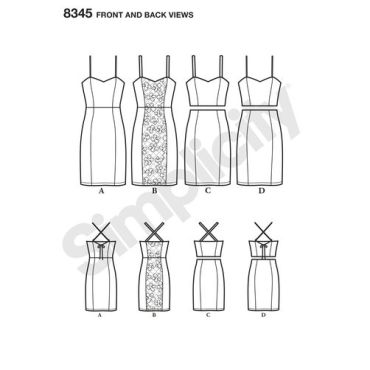 simplicity-dress-pattern-8345-front-back-view