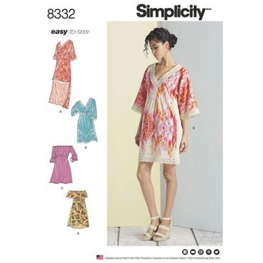 simplicity-lace-trimmed-mini-dress-pattern-8332-envelope-front