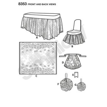 simplicity-party-decor-pattern-8353-front-back-view