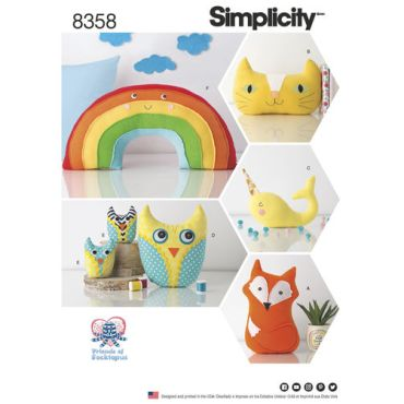 simplicity-stuffed-animal-pattern-8358-envelope-front