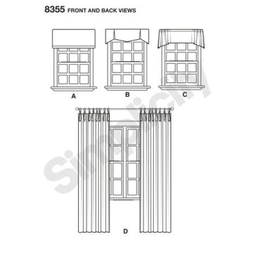 simplicity-window-curtains-pattern-8355-front-back-view