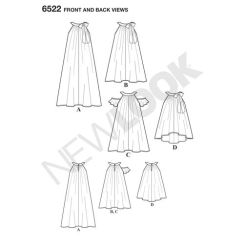 newlook-child-girl-dress-pattern-6522-front-back-view