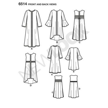 newlook-festival-vest-pattern-6514-front-back-view