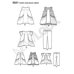 newlook-toddler-dress-pattern-6521-front-back-view