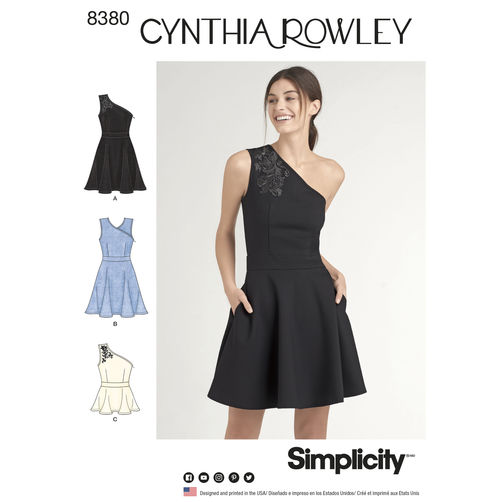 Cynthia Rowley Sewing Patterns: Simplicity And New Look Summer 2017