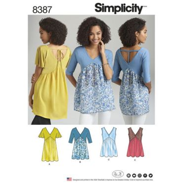 simplicity-knit-woven-top-pattern-8387-envelope-front