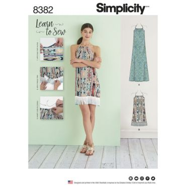simplicity-learn-to-sew-dress-pattern-8382-envelope-front