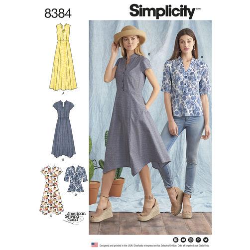 Tee Shirt Simplicity Patterns – A Murti Schofield