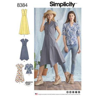 simplicity-shirt-dress-pattern-8384-envelope-front