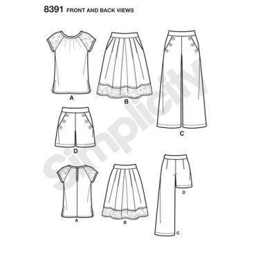 simplicity-sportswear-pattern-8391-front-back-view