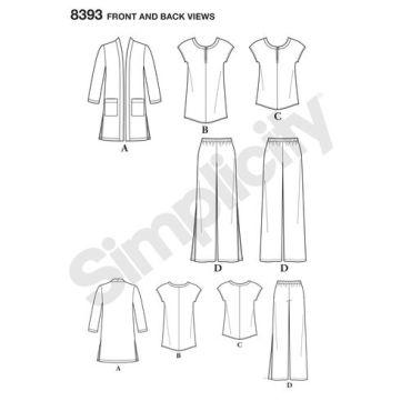 simplicity-sportswear-pattern-8393-front-back-view