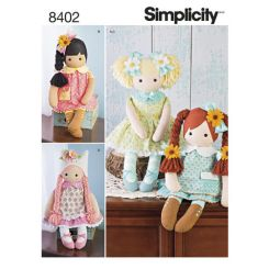 simplicity-stuffed-dolls-pattern-8402-envelope-front