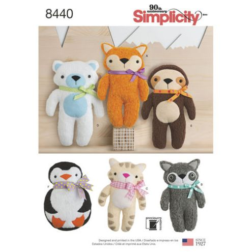 simplicity-felt-stuffies-pattern-8440-envelope-front