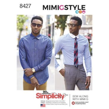 simplicity-fitted-shirt-mimigstyle-mimig-mens-pattern-8427-envelope-front