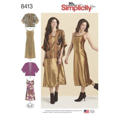simplicity-kimono-dress-miss-pattern-8413-envelope-front