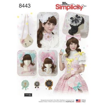 simplicity-lolita-hats-pattern-8443-envelope-front