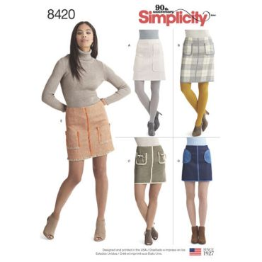 simplicity-pocket-skirt-pattern-8420-envelope-front
