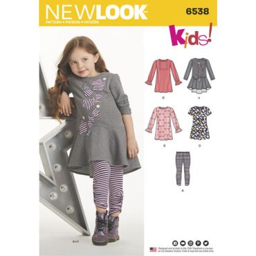 New-Look-dress-leggings-pattern-6538-envelope-front