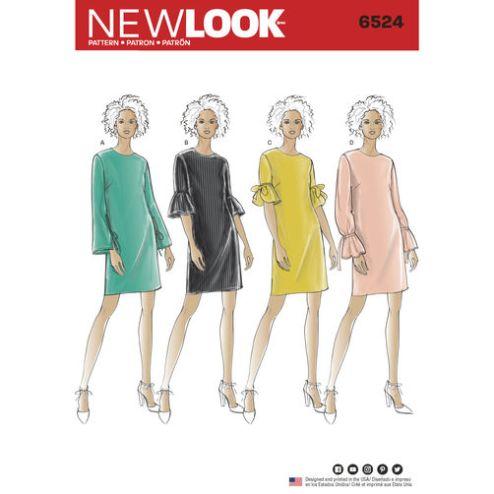 New-Look-dress-pattern-6524-envelope-front
