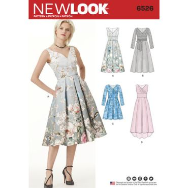 New-Look-drop-shoulder-dress-pattern-6526-envelope-front