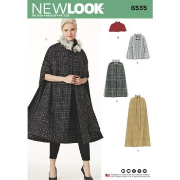 New-Look-long-cape-pattern-6535-envelope-front