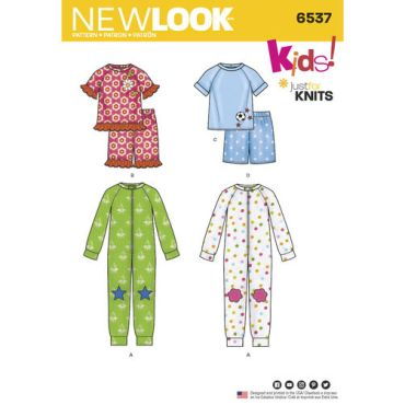 New-Look-onesies-pajamas-pattern-6537-envelope-front