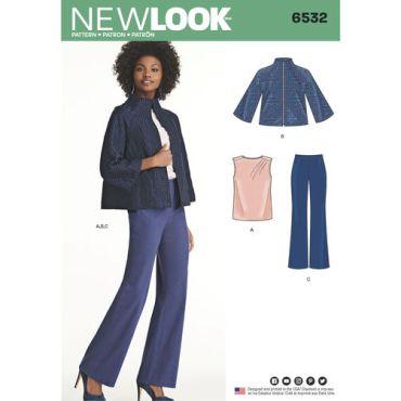 New-Look-suit-separates-pattern-6532-envelope-front
