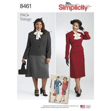 simplicity-1940s-vintage-plus-size-pattern-8461-envelope-front