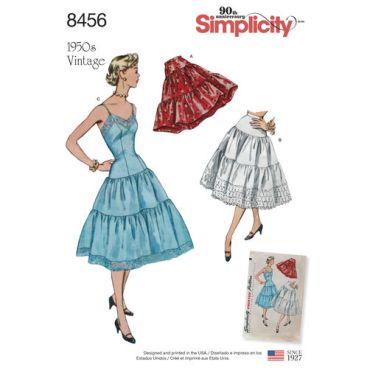 simplicity-1950s-vintage-slip-petticoat-pattern-8456-envelope-front