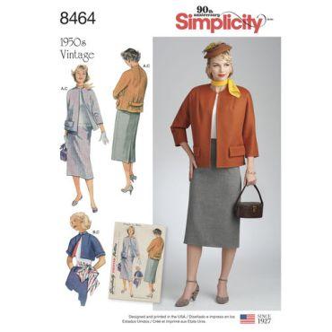 simplicity-1950s-vintage-suit-sportswear-pattern-8464-envelope-front