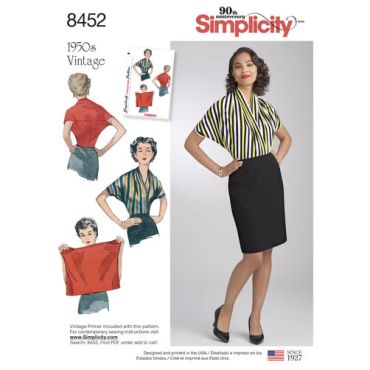 simplicity-1950s-vintage-top-simple-to-make-pattern-8452-envelope-front