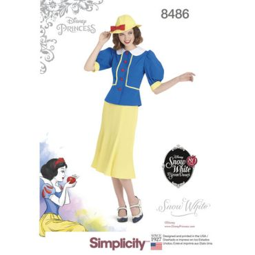 simplicity-dapper-snow-white-costume-pattern-8486-envelope-front
