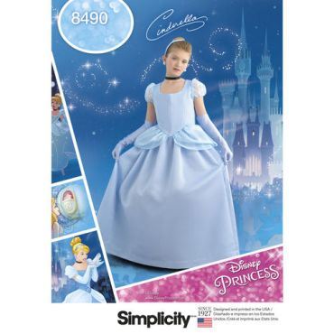 simplicity-disney-cinderella-costume-pattern-8490-envelope-front