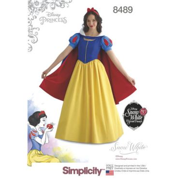 simplicity-disney-snow-white-costume-pattern-8489-envelope-front