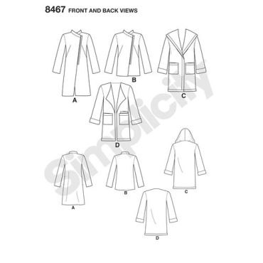 simplicity-doubleface-coat-pattern-8467-front-back-view