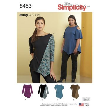 simplicity-knit-tops-pattern-8453-envelope-front