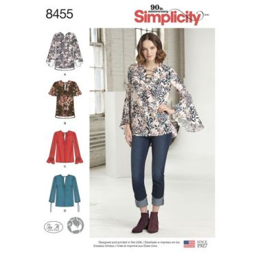 simplicity-peasant-blouse-pattern-8455-envelope-front