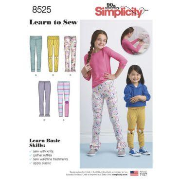 simplicity-child-leggings-pattern-8525-envelope-front
