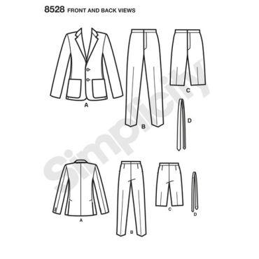 simplicity-crazy-suit-pattern-8528-front-back-view