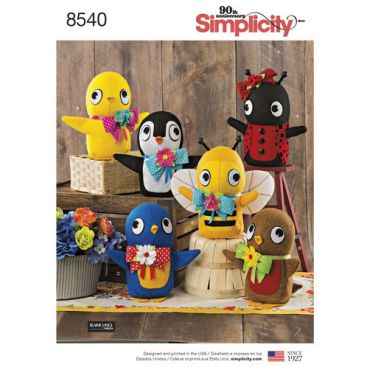 simplicity-felt-stuffies-pattern-8540-envelope-front