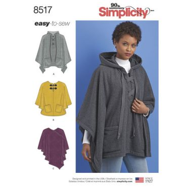 simplicity-poncho-pattern-8517-envelope-front