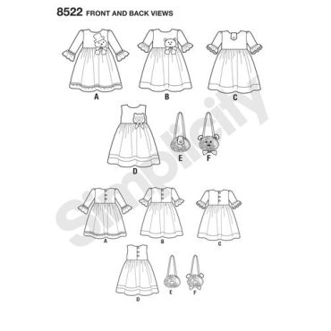 simplicity-rubyjean-pattern-8522-front-back-view